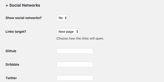 Add web-based media buttons