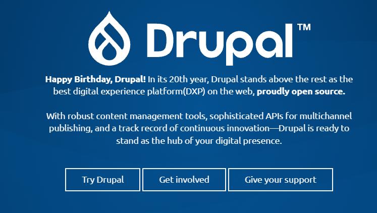 The Drupal site.